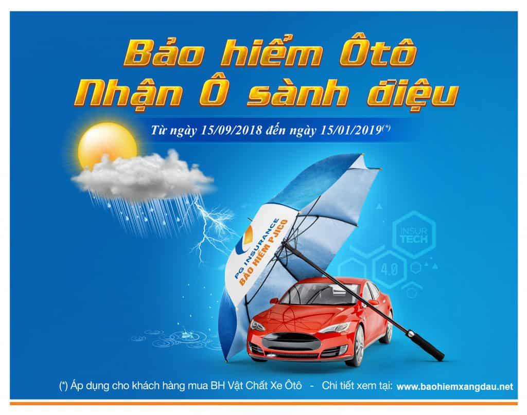Khuyến mãi bảo hiểm xe ô tô