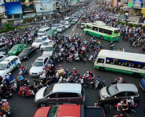 Quy định cần biết khi tham gia giao thông