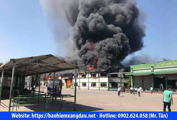 Bảo hiểm cháy nổ nhà xưởng