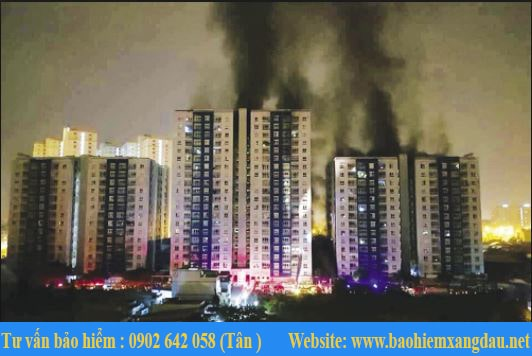Mẫu hợp đồng bảo hiểm cháy nổ chung cư, nhà tư nhân