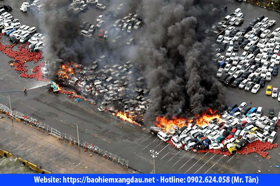 Bảo hiểm cháy nổ bãi giữ xe