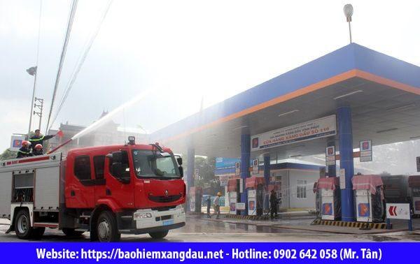 Mức phí bảo hiểm cháy nổ cây xăng dầu