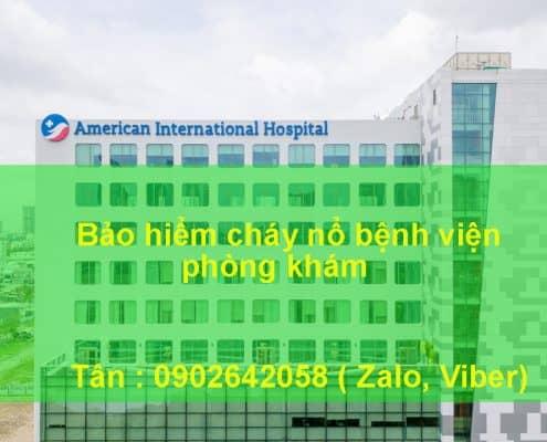 Bảo hiểm cháy nổ bệnh viện, phòng khám