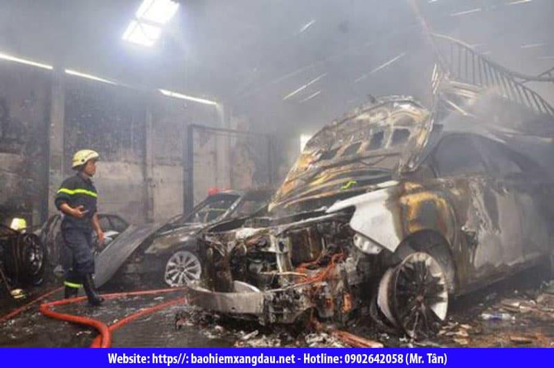 Bảo hiểm cháy nổ gara ô tô